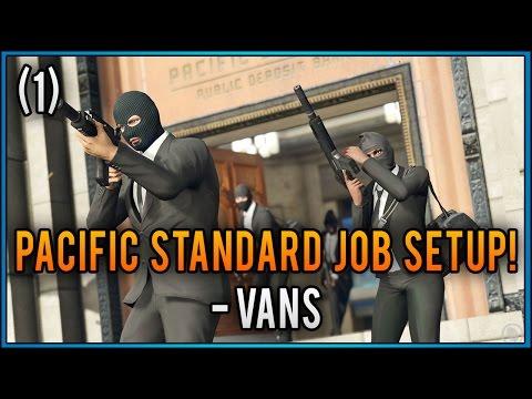 GTA 5: The Pacific Standard Job Setup (1) - Vans (GTA 5 Heist DLC)