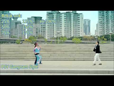Gangnam Style (PSY) 25% speed