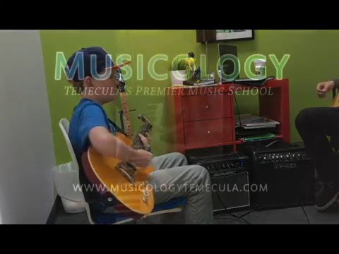 Musicology Temecula - Beverly Hills Guitar Solo - Walker - YouTube