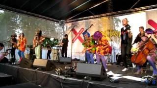 Ebony Bones headlining OneTaste & Royal Parks stage for Fete De La Musique, London