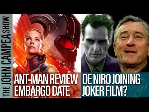 Ant-Man 2 Reviews Date, Robert De Niro Joining Joker Film Report
