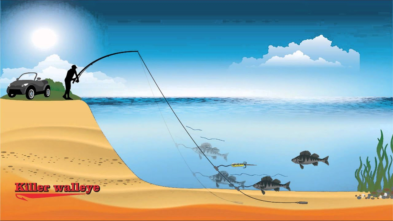 "Fishing tips with fishing secrets tackle ""Killer Walleye ..."