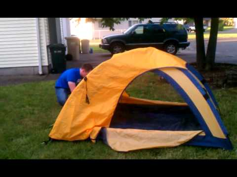& North Face Monoceres 22 Tent aka Slickrock - Set Up - YouTube