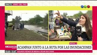 El agua no se va: inundaciones tras el temporal