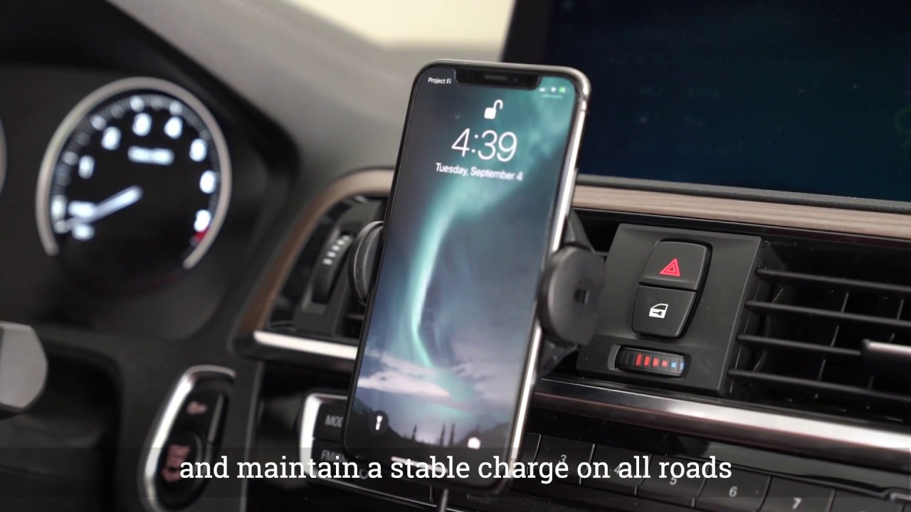 Hudly Fast Wireless Car Charger Mount video thumbnail
