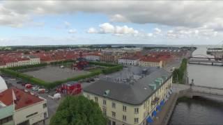 Lidköping Kommun  Flygbild Centrum