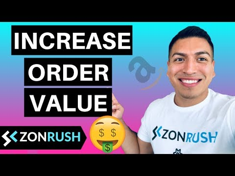 Amazon Listing Optimization - How To Increase Your Average Order Value