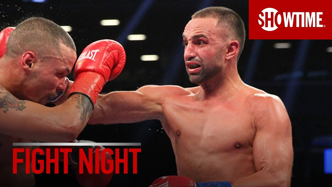 FIGHT NIGHT: Paulie Malignaggi | SHOWTIME Boxing
