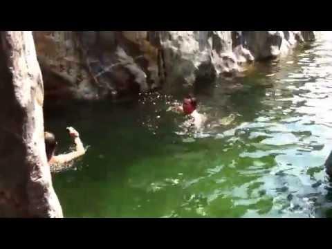 Big Sur gorge under water tunnel!