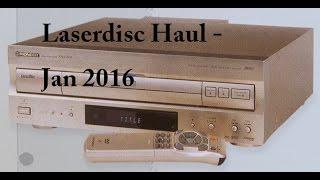 Laserdisc Haul - Jan 2017
