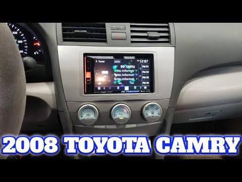 2008 Toyota Camry radio removal / Sony install
