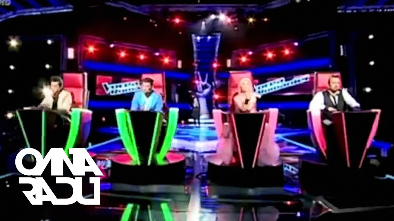 Oana Radu - The Voice Of Romania 2011 (Blind Auditions)