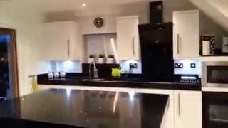 Video Stunning modern black & white high gloss symphony kitchen with silestone worktops download MP3, 3GP, MP4, WEBM, AVI, FLV Agustus 2018