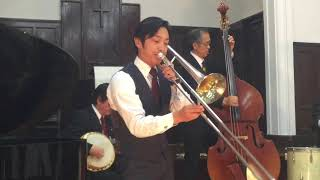 ODJC New Orleans Jazz At Church 島之内教会 2018.4.15 ニューオリンズ...