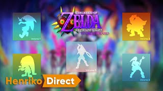 Zelda Majora's Mask: Re-Orchestrated Soundtrack Announcement