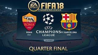 FIFA 18 AS Roma vs Barcelona   Champions League 2017/18   PS4 Full Match