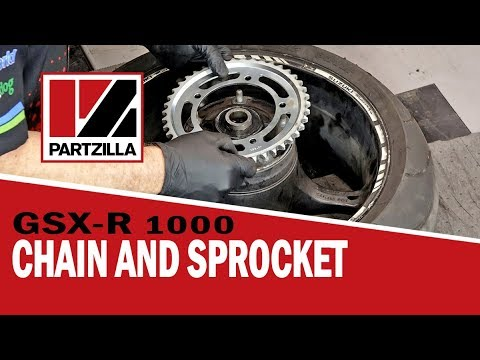 How to Change the Chain and Sprockets on a GSXR   GSX-R 1000   Partzilla.com