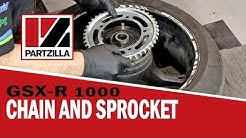 How to Change the Chain and Sprockets on a GSXR | GSX-R 1000 | Partzilla.com