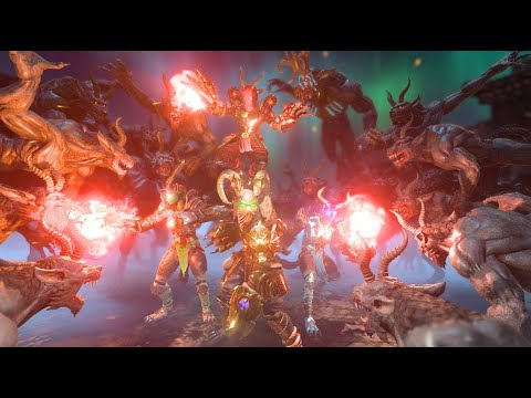 Almighty: Kill Your Gods // Hunt demons, monsters, and gods solo or online // STEAM GAME  