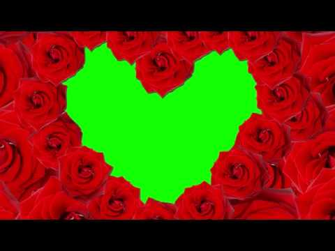Green Screen Happy Valentine's Day Overlays / Frames / Borders 2