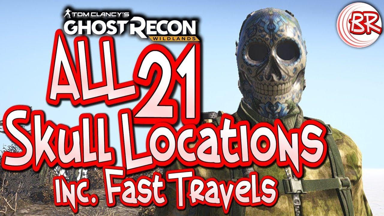Ghost Recon Skull Wallpaper ·① WallpaperTag  Skull Ghost Recon Wildlands