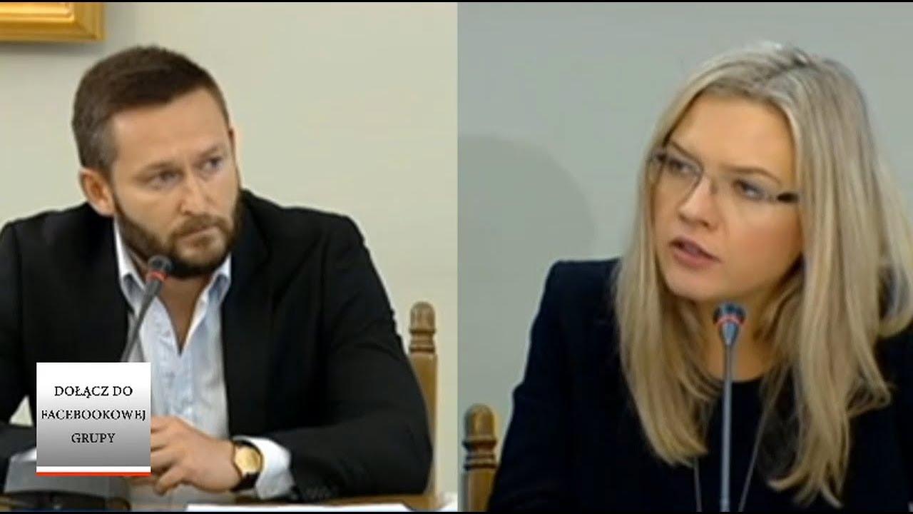 Małgorzata Wassermann ustawia do pionu współpracownika Marcina P. – komisja Amber Gold