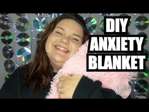 How To Make Your Own Diy Anxiety Weighted Blanket Youtube