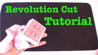 One Handed Revolution Cut (Card Flourish Tutorial)