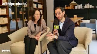 Fuorisalone 2018 | PORRO - Gamfratesi presents Kite Sofa and Palladio the coffee table