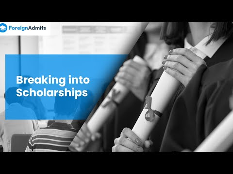 Breaking into Scholarships by Nikhil Jain