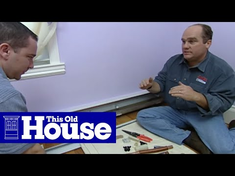 How To Quiet Knocking Baseboard Heat This Old House