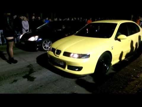 seat leon cupra r vs honda civic