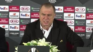 """Fatih Terim: """"UEFA, kupasına üvey evlatlık yapıyor"""""""