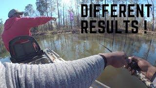 Boat Vs Bank fishing: Same Pond different days!! (2 Videos)