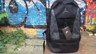 Обзор Рюкзак портфель Nike Jordan відеоогляд огляд