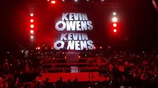 Wwe Argentina entrada Tye Dillinger Kevin Owens Baron Corbin
