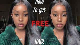 How to get free hair