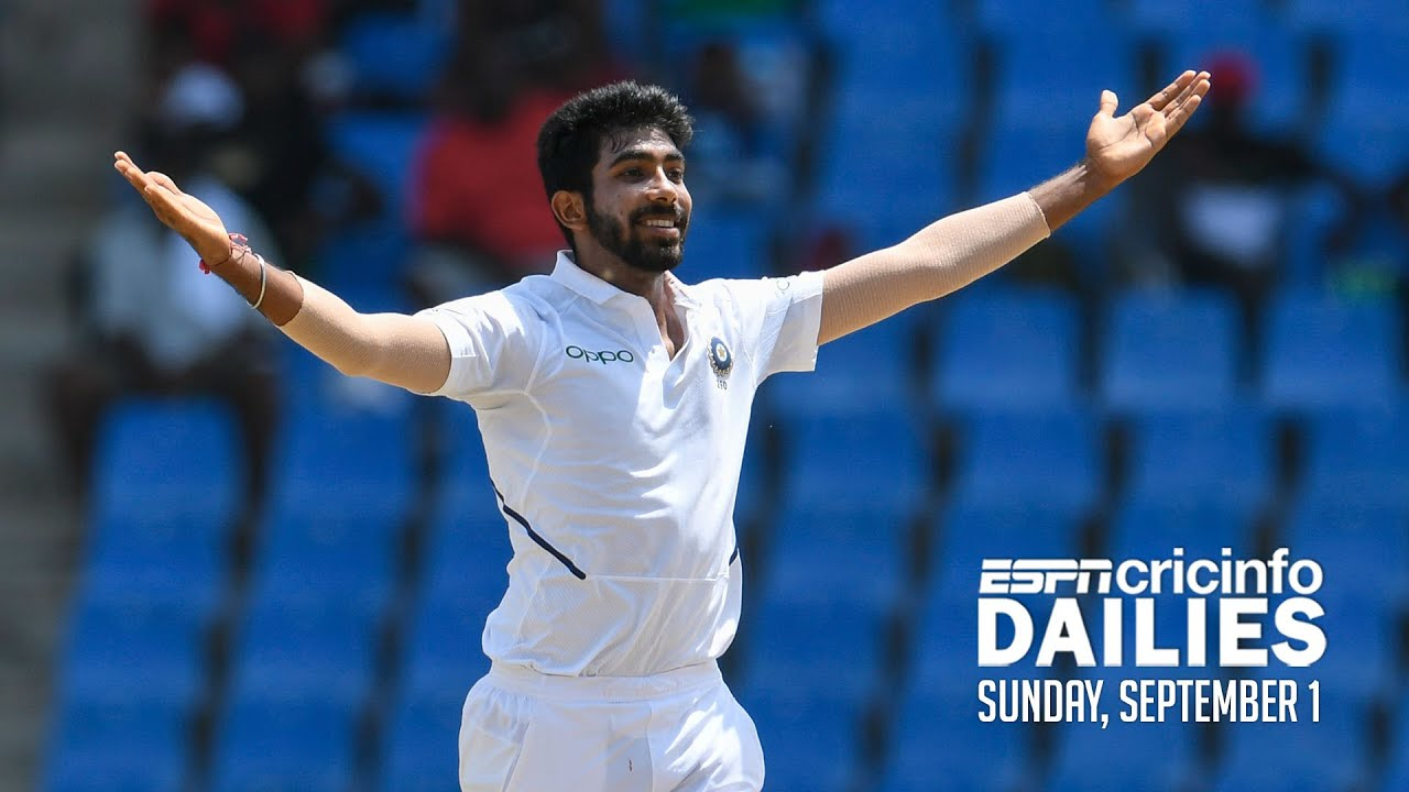 Bumrah's hat-trick puts India in control