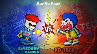 SAYSORRY GAMING vs @XD Tech || Minimilitia doodle army 2 screenshot 5