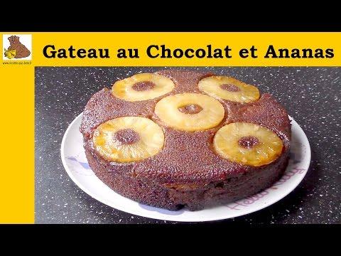 gateau-au-chocolat-et-ananas---recette-facile