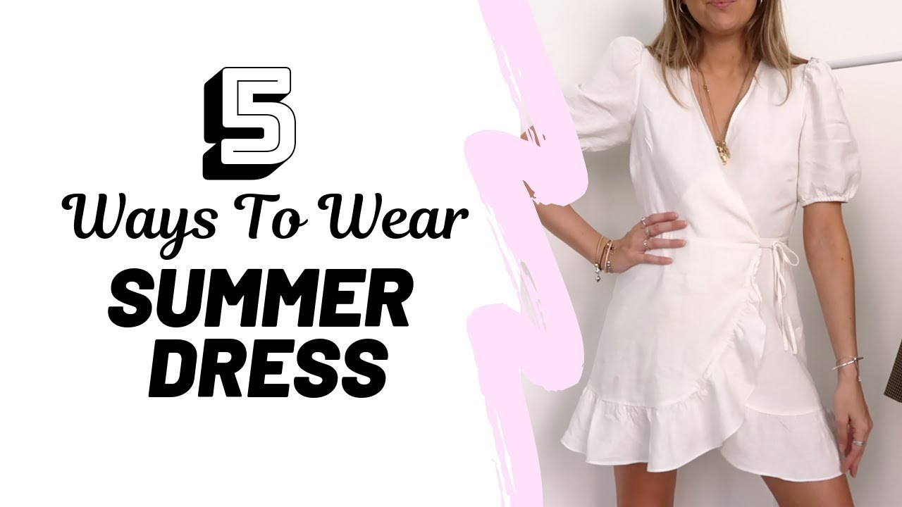 HOW TO STYLE A SUMMER DRESS // Summer Outfit Ideas // Sinead Crowe 8