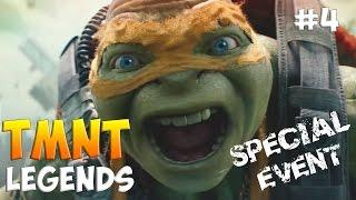 Черепашки-Ниндзя: Легенды. Прохождение Часть 4 Special Event (TMNT Legends IOS Gameplay 2016)