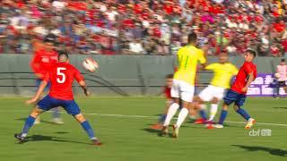 Gabriel Menino faz bela jogada e marca um golaço para a Seleção Brasileira Sub-20
