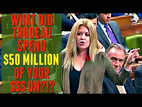 What did Justin Trudeau and the Liberal Party spend $50M of your $$$ on!?!