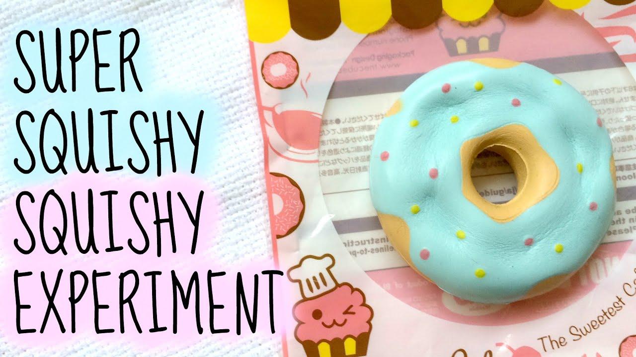 Ibloom Donut Squishy : iBloom x OSC Donut Squishy Experiment   - YouTube