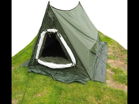 British Amy Arctic Tent (rare kit) 2 man & British Amy Arctic Tent (rare kit) 2 man - YouTube