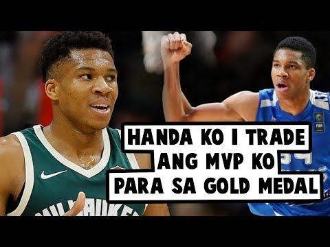 Giannis Antetokounmpo Handang Ipag Palit Ang MVP Award Sa FIBA GOLD MEDAL?