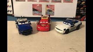 Disney Cars To Protect and Serve 3-Pack Review