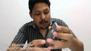 [VENDIDO] iPhone 4S 16GB Preto(Compre hoje mesmo com segurança na LumaShop através do fone: (92) 8270-9763 | (92) 3343-2728. E-mail/Skype: lumashopoficial@hotmail.com Link do ..., 2014-04-29T01:33:33.000Z)