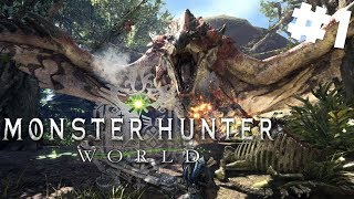 Monster Hunter World PL #1 - Witajcie w Krainie Potworów | PC 1440p gameplay po polsku